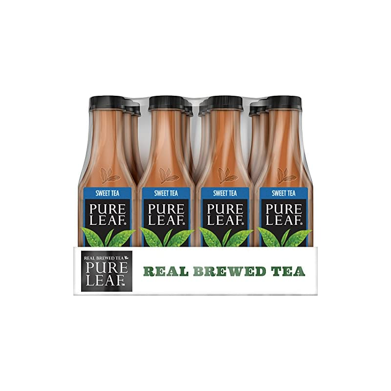 Pure Leaf Iced Tea, Sweet Tea, Real Brew