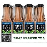 #6: Pure Leaf Iced Tea, Sweet Tea, Real Brewed Black Tea, 18.5 Ounce Bottles (Pack of 12)