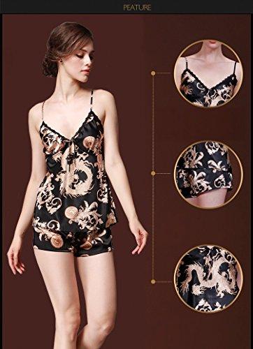 Silomer - Pijama - para mujer negro