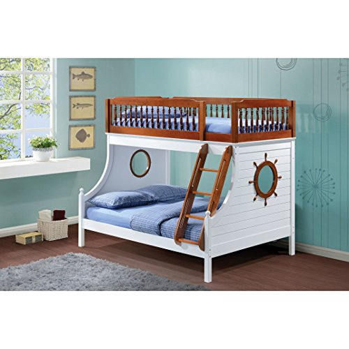 Faith Twin/Full Bunk Bed by Overstock
