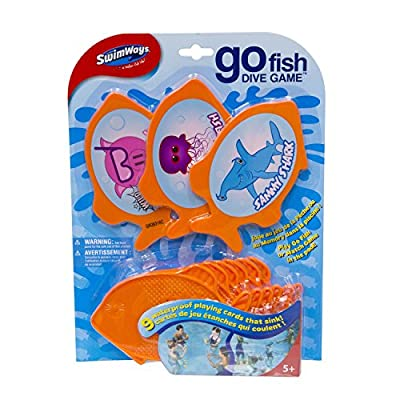 SwimWays Go Fish Dive Game: Toys & Games