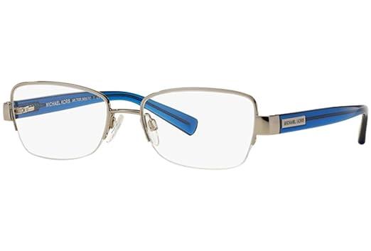 1ffd6a690b Michael Kors MITZI IV MK7008 Eyeglass Frames 1079-51 - Silver at ...