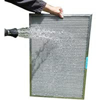 14x25x1 ALLERGY MAGNET WASHABLE FILTER - Highest MERV Rating in Permanent Electrostatic Furnace A/C Filters
