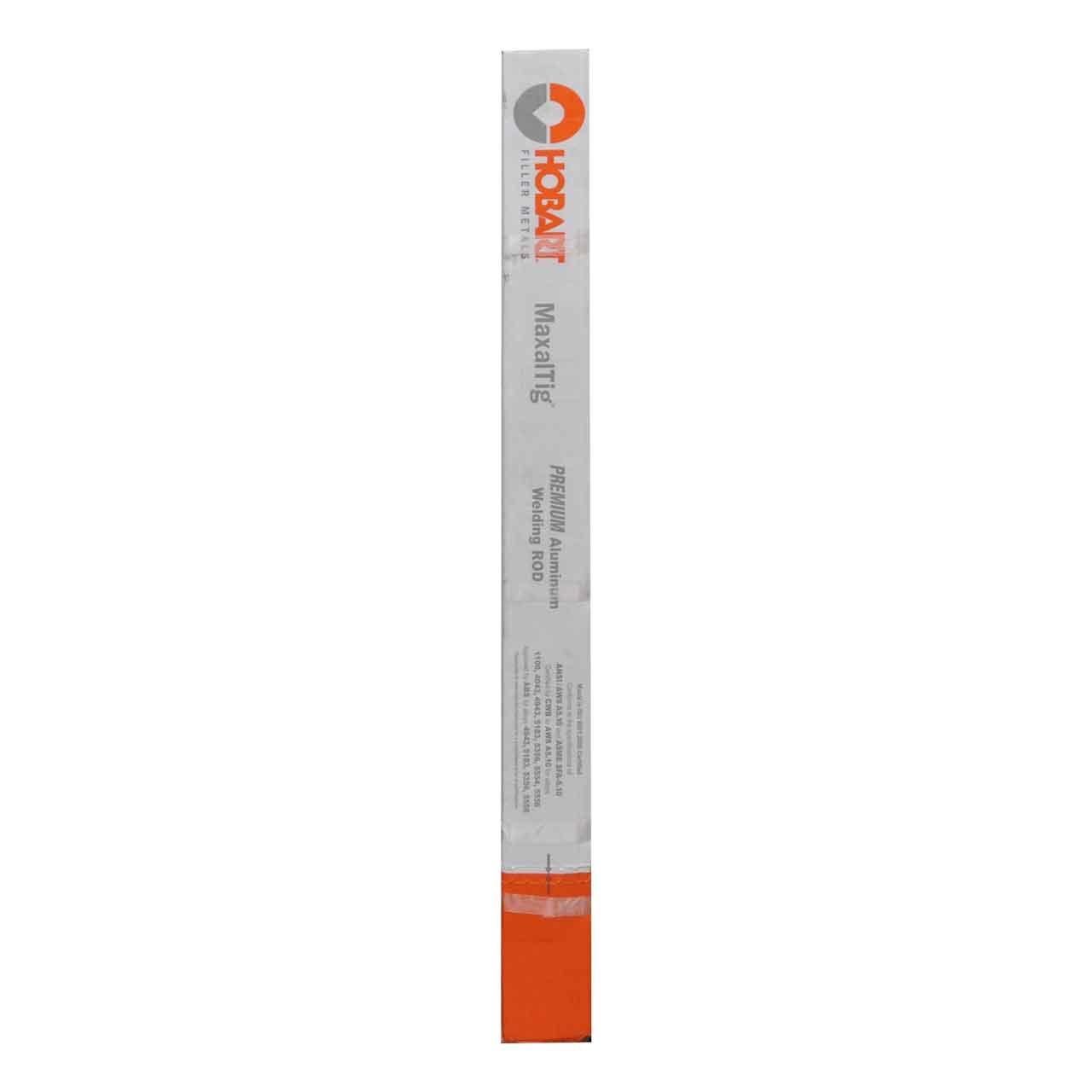 Hobart 494312570 MaxalTIG R4943 1/8'' X 36'' Aluminum Tig Filler Rod 10#