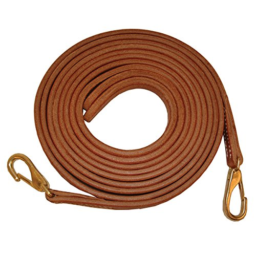 Quiet Creek Western Split Reins With Snap Ends - 7 Feet