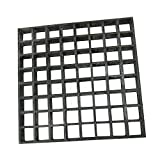 Eco Pultrusions FRP Molded Grating 4 FTx12 FTx1 Inch Dark Gray