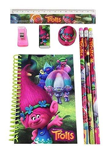 DreamWorks Trolls Poppy School Stationery Set- 1 Pack (STYLE MAY VARY) Photo #3