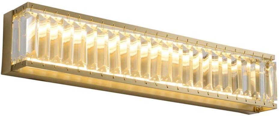 0 ミラーヘッドライト、バスルーム、バスルームのトイレミラーキャビネット特別な壁ランプ化粧LEDドレッサーミラーフロントランプ 0 (Size : 55cm)
