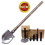 SLFC Military Folding Shovel - Portable Multitool Tactical...