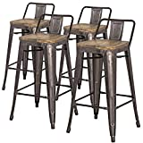 Metal Counter Stools with Backs New Pacific Direct Metropolis Metal Low Back Counter Stool 26