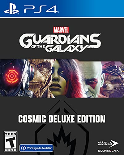 Marvel's Guardians of the Galaxy Deluxe Edition – PlayStation 4