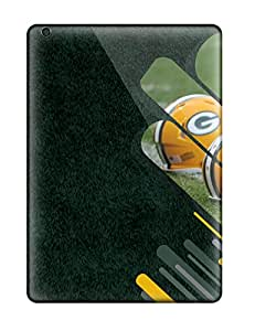 Unique Design Ipad Air Durable Tpu Case Cover Greenay Packers 2014