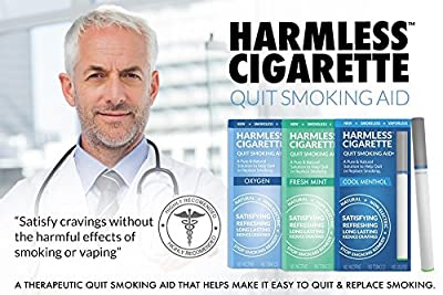New | Quit Smoking Aid | Stop Smoking Remedy To Help Quit & Reduce Cravings | Natural & Therapeutic Quit Smoking Solution | Harmless Cigarette