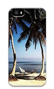 TYH - iPhone 5 5S Case Beach Paradise 3D Custom iPhone 5 5S Case Cover phone case