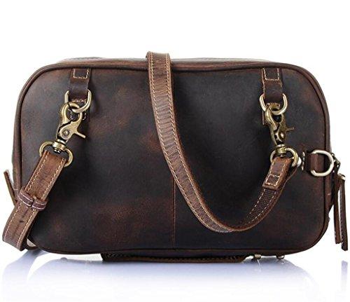 Satchel borsa Piccolo Borsa semplice sacco messaggero generoso quadrato tracolla shopping pelle viaggio SHOUTIBAO in singola a personalizzato e Fw81AA