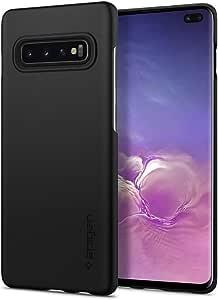 Spigen Thin Fit (Air - Extra Thin) Designed for Samsung Galaxy S10 Plus Case (2019) - Black