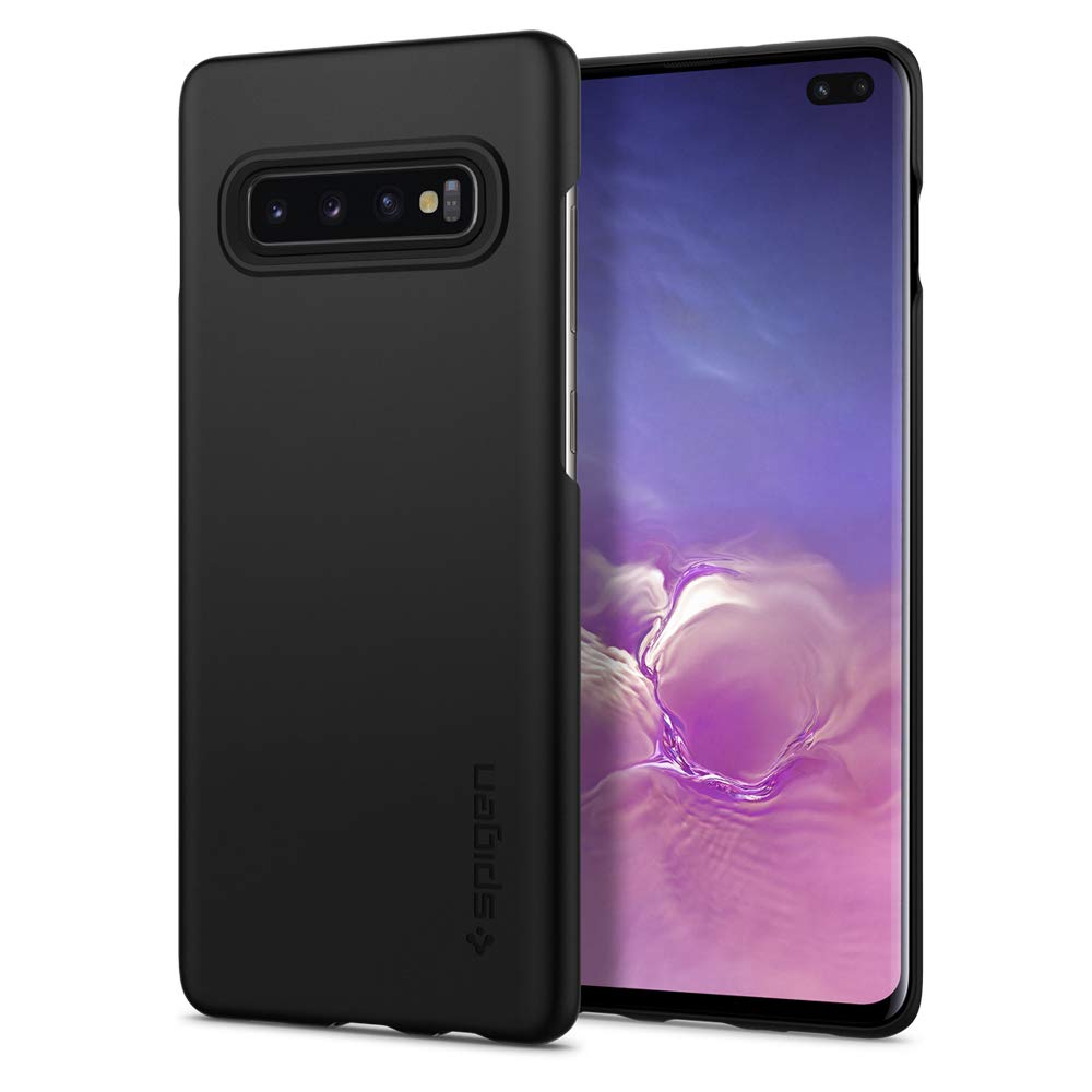 Funda Spigen Para  Samsung S10 Plus Thin Fit Negra