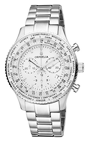 ORPHELIA Master Men's Silver Stainless steel watch-OR82702