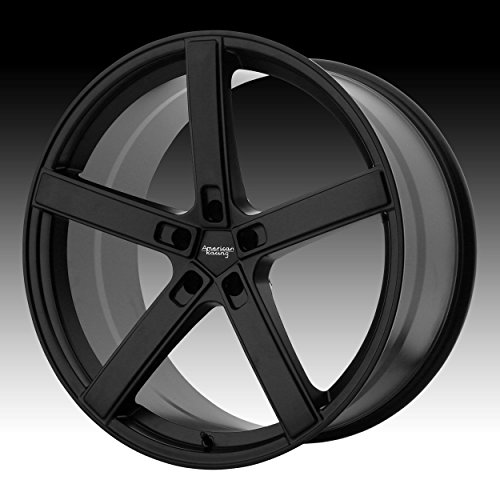 AMERICAN RACING AR920 BLOCKHEAD Wheel with BLACK and Chromium (hexavalent compounds) (20 x 9. inches /5 x 72 mm, 20 mm Offset)