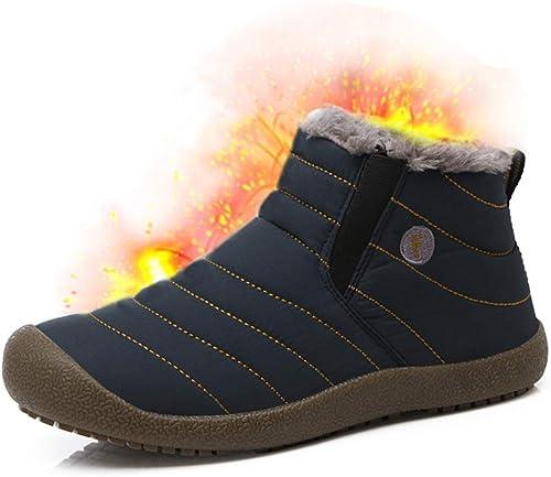 Bottes D/'Hiver Outdoor Boots Bottes Chaussures Hiver Homme Bottes Homme 048