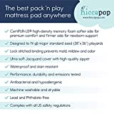hiccapop Pack and Play Mattress Pad [Dual
