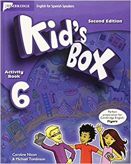 Kid's Box for Spanish Speakers Level 6 Activity Book with CD ROM and My Home Booklet