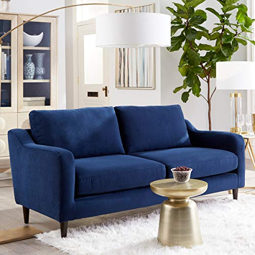 (Sofab Hudson Series 2-Seat Sofa, Royal Style Design Living Room Couch with Sturdy Wood Frame Construction - 73