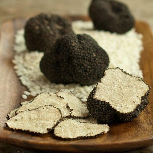 Fresh Flash-Frozen Italian Summer Black Truffles - 1 x 1/4 lb