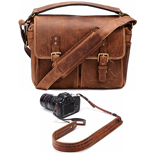 Ona Brixton Camera/Laptop Messenger Bag  and Presidio Crossb
