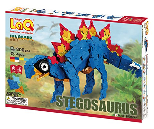 LaQ Stegosaurus Model Building Kit ()