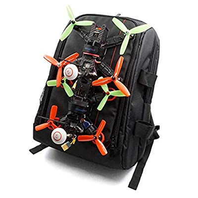 2 Set FPV Drone Lock Mount for Backpack Plug-in Accessories DIY Bundle Mount Hanging Buckle with Battery Straps for FPV Quadcopter: Toys & Games