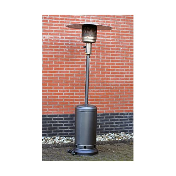 Outtrade Gas Heater grey
