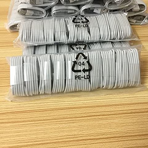 20X 8 Pin USB Charger Cord Cable for iPhone 6 5S 5 5C iPhone 6S Wholesale Lot (Zune Home A V Pack)