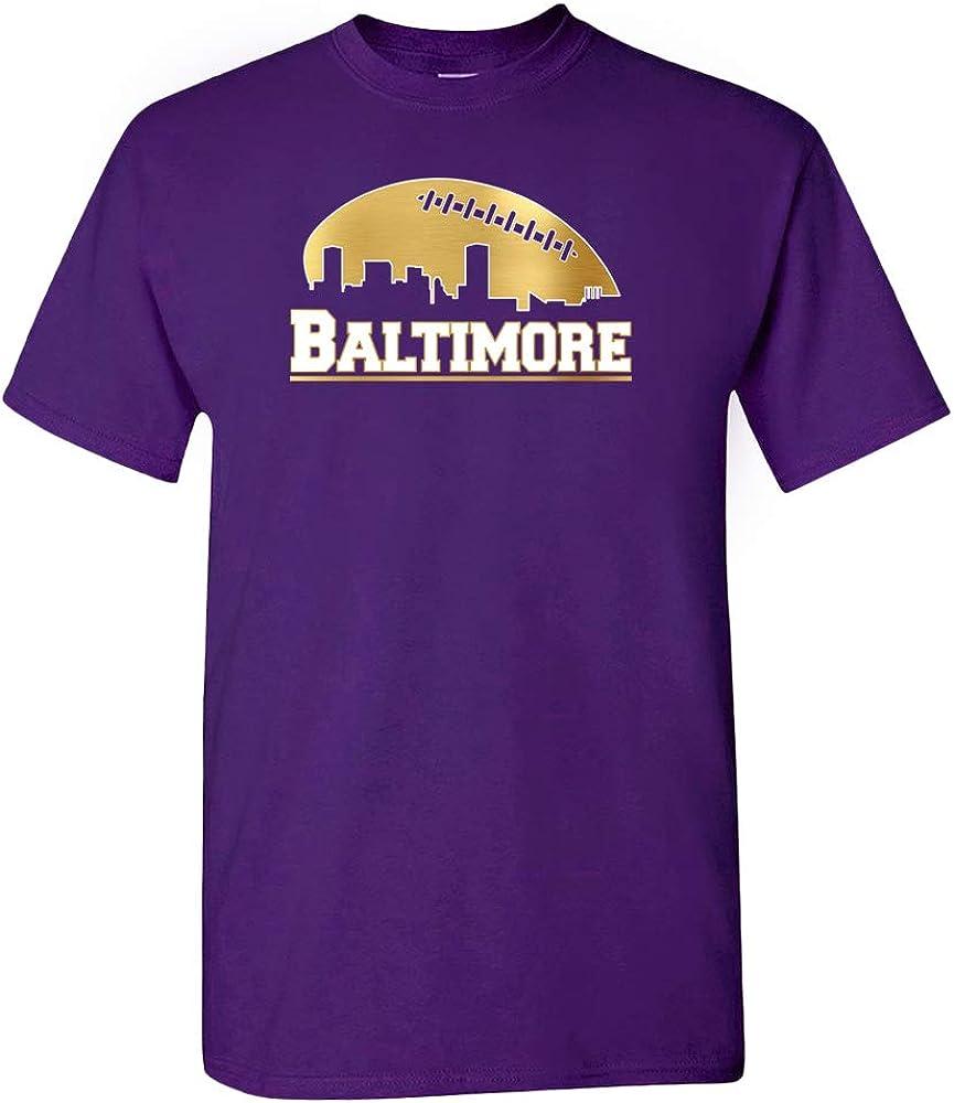 Xtreme Apparrel Baltimore Football City Skyline Shirt