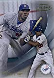 2016 Topps Gold Label Class 1 #90 Yasiel Puig Los Angeles Dodgers Baseball Card in Protective Screwdown Display Case