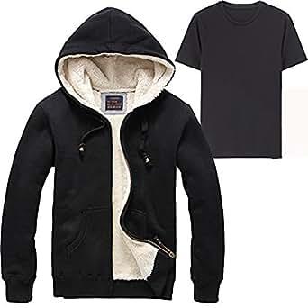 HanHent winter jacket for men winter coats Fleece Warm