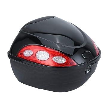 36L Kitechildhrrd Motorradkoffer Topcase Helmkoffer Rollerkoffer Roller Top Case Universal f/ür Motorroller