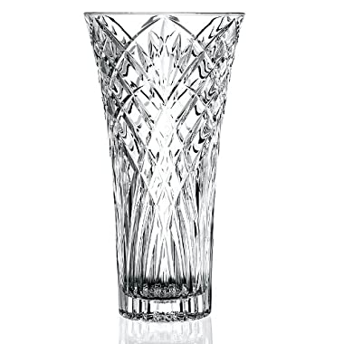 Lorren Home Trends Melodia Collection Rcr Crystal Vase