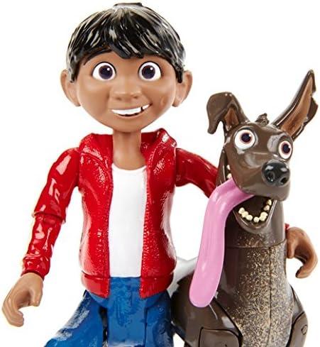 Pixar Coco Dante and Miguel Action Figure Version Anglaise Disney
