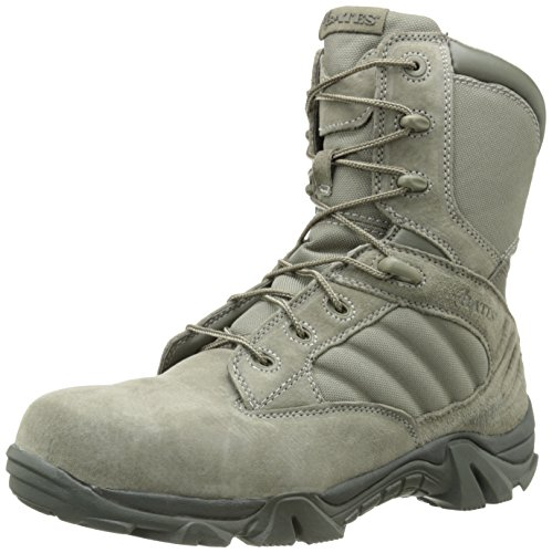 Bates Men's Gx-8 Sage 8 Inch Comp Toe Zip Uniform Boot, Sage, 9.5 M US