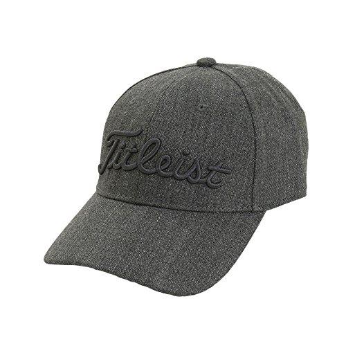 タイトリスト TITLEIST 帽子 ツイード調キャップ HW7CP ブラック フリー