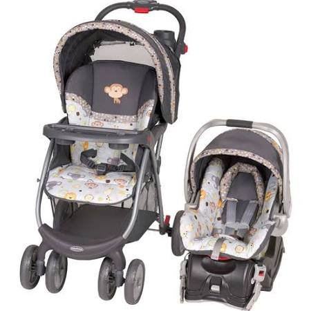 Baby Trend Envy Travel System with Flex-Loc Infant Car Seat Bobbleheads by Baby Trend (Baby Trend Car Seat Canopy)
