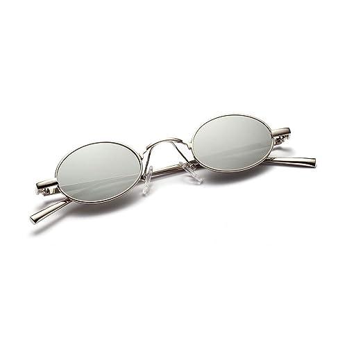 e98abf9bdf ROYAL GIRL Vintage Retro Slender Oval Sunglasses For Men Women Small Candy  Color hippie Glasses (
