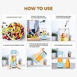 Portable Blender, Personal Size Blender Smoothies