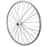700c x 35 wheel - Sta-Tru Quick Release Silver ST735 36H Rim Front Wheel (700X35)