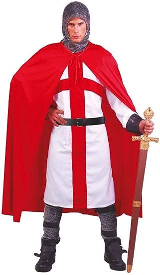 FIESTAS GUIRCA Traje de Hombre Disfraz Cruzado con Capa de ...