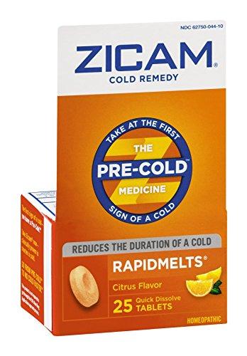 Zicam Cold Rapid Melt +c Size 25ct