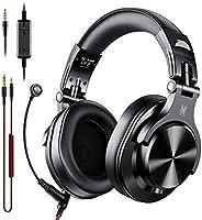Fones de ouvido OneOdio A71 com microfone estéreo com fio para notebook PS4 Xbox One PC com volume e compartil