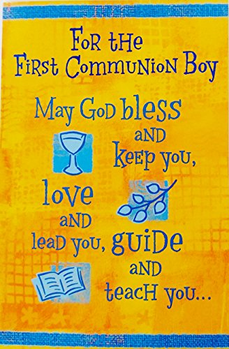 For the First Communion Boy -
