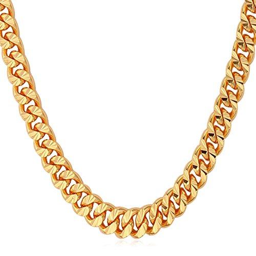 U7 Jewelry Copper Platinum Necklace